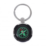 AOTU AT7624 Keychain Tyre Shaped Compass Decoration