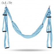 Outlife Parachute Fabric Swing Inversion Therapy Anti-gravity Aerial Yoga Hammock