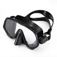 WHALE MK1000 + SK900 Professional Diving Snorkeling Silicone Mask Snorkel Glasses Set