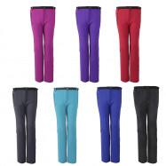 Waterproof Soft Shell Warm Women Pants Hiking Cycling Trousers