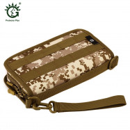 Protector Plus Tactical Camouflage Wallet Horizontal Hand Bag