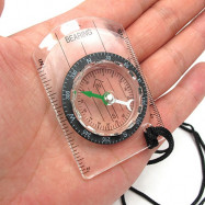 Wilderness Survival Outdoor Multi-function Compass Map with Scale