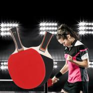 BOLI Two Star Table Tennis Ping Pong Racket Set