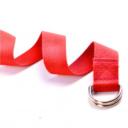 Yoga Stretch Strap D-ring Waist Leg Fitness Adjustable Belts