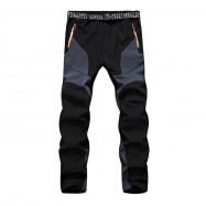 Outdoor Soft Shell Trousers Warm Running Pants for Men