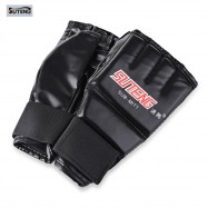 One Pair Half Mitts Sparring Boxing Gloves Gym Muay Sparring Training Tool