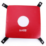 Suteng Wall Punch Focus Target Pad Leather Coated Square Foam for Boxing Karate Martial MMA