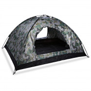 Outdoor Hiking Fishing Hunting Camping Double Layer Tent Camouflage Tabernacle