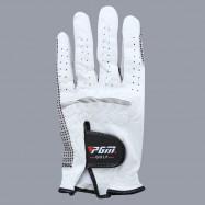 PGM Genuine Leather Left Hand Soft Ventilated Sheepskin Golf Glove for Man