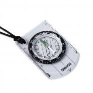DC35 - 1B Navigation Compass with Map Ruler Outdoor Camping Hiking Survival Equipment