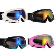 Single Layer Ski Goggles Adult Children Sports Glasses