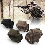 Portable Bullet Shell Pouch Hunting Shooting Gun Bag