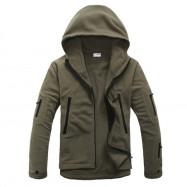 Outdoor Sports Warm Soft Shell Men Jacket Liner Fleece Coat