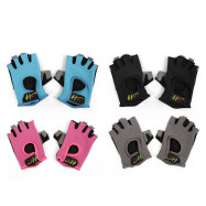 Half Finger Gloves Anti-skid for Sports Gym Riding Climbing