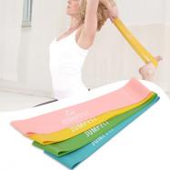 4PCS Portable Yoga Strips Fitness Equipment