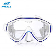 WHALE MK - 100 Adult Silicone Diving Seal Mask Goggles with Good Vision