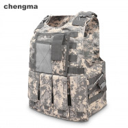 chengma MJ - 007 Military Tactical Vest Water Resistant Molle System Combat Assault