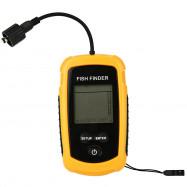 LCD Water-resistant Fish Finder Ultrasonic Sonar Sensor Echo Sounder