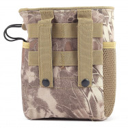 Molle Outdoor Recycling Bag Collection Debris Pouch Travel Hunting Storage