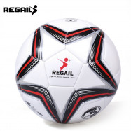 REGAIL Size 5 PU Star Training Football Soccer Ball