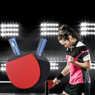 BOLI A10 2pcs / Set Table Tennis Ping Pong Racket with Ball