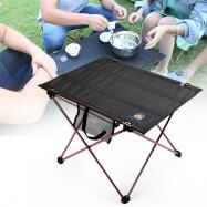 AOTU AT6728 Camping Picnic Aluminum Alloy Folding Table
