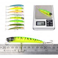 Proberos DWMI007 43-piece Set ABS Plastic Classic Fishing Lures Minnow Shad Bait
