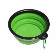 Portable Silicone Collapsible Pet Bowl