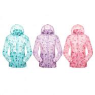 Tectop JL80280 Women Outdoor Breathable Sports Wear-resistant Hiking Jacket