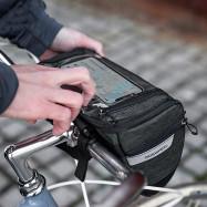 ROSWHEEL 111459 3L Capacity Bike Front Handlebar Bag Bicycle Basket