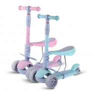 Baby Walker Three-in-one Three-wheeled Kids Scooter Detachable Seat