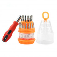 31-in-1 Multifunctional Screwdriver Tool Set with Storage Box