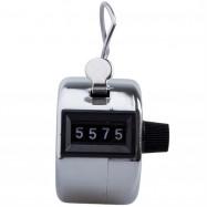 Metal Mini Golf Handheld Manual 4 Position Golf Counter