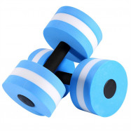Water Aerobics Dumbbell Weights Set Workout EVA Medium Aquatic Barbell 2PCS