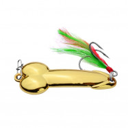 2 Color VIB Golden Silver Road Lure Sequin Fishing Bait