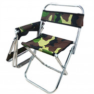 Outdoor Fishing Chair Camouflage Folding Camping Hiking Beach Picnic