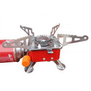 Portable Cassette Stove Small Square Outdoor Camping Barbecue Picnic Tools
