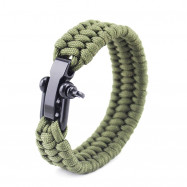 Outdoor Hiking Camping Emergency Rescue Seven Core Umbrella Rope Bracelet