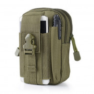 Outdoor Multi-function Tactical Molle Waist Bag Splash-resistant Wear-resistant 1000D Nylon Material