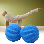 Peanut Massage Ball Fitness Yoga Double Lacrosse Relaxation Tool