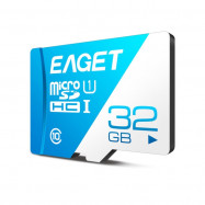 EAGET T1 Class 10 High Speed Micro SDHC UHS-I Flash TF Memory Card