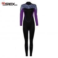 SLINX 2mm Female Long Sleeves Anti-UV Warm Surfing Diving Wetsuit