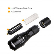 Green Hunting Flashlight Torch Zoomable Hunting For Fishing Hunting Detector