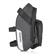 ROSWHEEL 131464 Bicycle Saddle Bag with Water Bottle Pocket