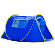 HUILINGYANG Outdoor Camping Tent Single-layer Quick Open Tabernacle