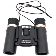 jinjuli 8X22 Precise Handheld Design High-definition Binocular with Focus Wheel