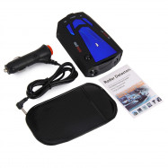 V7 360 Degrees 16 Band Scanning LED Radar Detector Car Speed Testing System