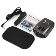 V9 360 Degrees 16 Band Scanning LED Radar Detector Car Speed Testing System