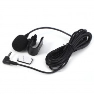3.5mm External Microphone Mic for Car DVD Radio Laptop Stereo Player HeadUnit Cable 3m