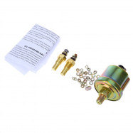 B735 52MM 3 in1 Car Accuracy Meter Auto Gauge Water Temperature Oil Pressure Sensor Triple Kit